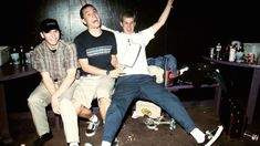 Oh god they are so young in this pic! (Mark wtf are you doing?)