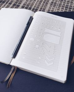 Bullet Stencil for Bullet Journal Filofax Midori Traveler's Notebook Erin Condren Planner () by MooAndTheBoo