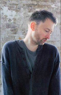 Thom Yorke from Radiohead and Atoms For Peace Great Bands, Cool Bands, Colin Greenwood, Atoms For Peace, Little Earthquakes, Thom Yorke Radiohead, Weird Fish, Jim Morrison, Bands