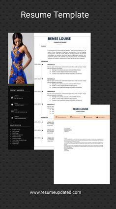 Cv Resume Template, Resume Cv, Resume Design, Free Resume, Fashion Designer Resume, Resume Review, Cv Words, Cover Letter For Resume, Cover Letters