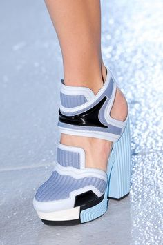 The Best Shoes From This Season's Runways. #rodarte #shoes #nyfw