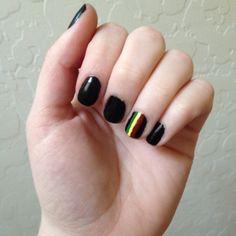 Rasta nails 2