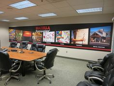 Showcase your brand and company offerings with a wall mural. Customer Example | Mazzella Companies in Cleveland, OH