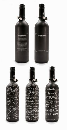 Wine Chalk Packaging Inspiration via From Up North