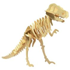 A wooden kit that makes your own. This set takes approximately 30 minutes to build and is 50 high when complete. Great to collect and have on a shelf. #dinosaur#kit#wooden#model#science#palentology#educational#toys#kids#children#gift#australia#