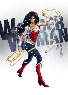 WONDER WOMAN by =croaky