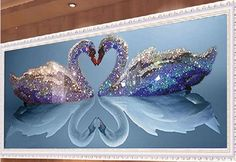 Aliexpress.com : Buy 5D DIY Diamond Painting Kits Round Rhinestone Draw Diamond embroidery Animals Swan Cross Stitch Kit Mosaic Picture flower Swans from Reliable painting child suppliers on Life is beautiful