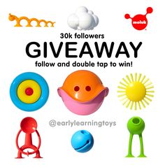Big MOLUK GIVEAWAY by @earlylearningtoys on Instagram! Win a cross section of the award-winning MOLUK collection including exclusive pre-production pieces of the new Oogi Bongo, Oogi Pilla and Pluï Brush Sunny! www.instagram.com/p/BFwWqZcxCuk
