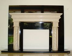 ART DECO ITALIAN MINIATURE MARBLE FIRE PLACE (MUST SEE)  3 500$ !!!