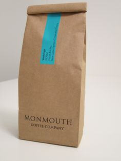 Monmouth Coffee packaging. Simple and lovely.