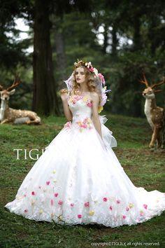 【楽天市場】ウェディングドレス_ウエディングドレス_ホワイトドレス_Aライン_プリンセス(w316):ブライダルアモーレ