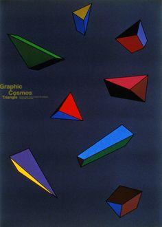 Shin Matsunaga, Graphic Cosmos Triangle, 1996