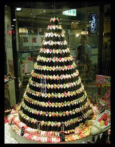 Nothing says Merry Christmas like a Sushi Christmas Tree!
