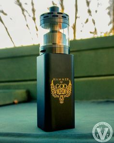 Now that's a beast! If you were lucky enough to buy the Hammer Of God V3 while we had them in stock, I highly suggest picking up the new 40mm Mason Dumptank RTA by Vapergate! We might be able to get our hands on some more HOG mods too. Lemme know if you https://canadaejuice.com