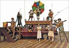 Teatro é mesmo vida ( Grupo Galpão) - Thaís Pacheco