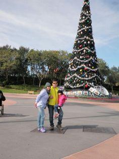 En el parque  Magic kingdom