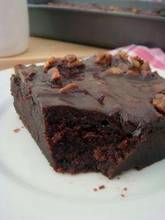 Crazy delicious chocolate Texas sheet cake
