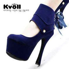 READY STOCK KVOLL HEELS KODE : KV-OCT1004 Blue Size 39 PRICE : Rp.420.000,- AVAILABLE SIZE : 39  FOR ORDER : SMS/Whatsapp 087777111986 PIN BB 766A6420 Facebook : Mayorishop  #mayorishop #kvoll #readystock #original #kvollimport #kvollgrosir #heels #highheels #platformshoes #women #shoes #bogor
