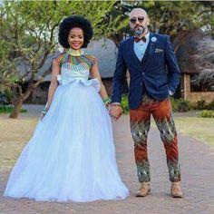 Wedding Dresses South Africa, African Wedding Attire, South African Weddings, African Attire, African Bridesmaid Dresses, African Print Dresses, African Print Fashion, African Dress, African Traditional Wedding Dress