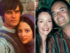 "Today and yesterday: When the now famous ""star crossed lovers"" of two enemy families meet, forbidden love ensues. ""My first real celebrity crush was Leonard Whiting, who played ""Romeo"", to Olivia Hussey's ""Juliet"", in Franco Zeffirelli's film version of the bard's, ""Romeo and Juliet"", still the best one to-date!"