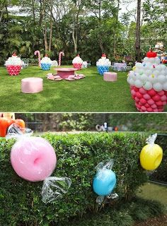 ROLDÃO ARTS AND SILVA: DECORATION WITH BALLOONS