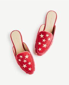 Color Swatch 6897Karolina Star Velvet Loafer Slides