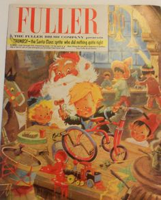 1962 FULLER BRUSH COMPANY department store catalog CHRISTMAS Fuller Brush, Christmas Catalogs, Vintage Ephemera, Department Store, All Things Christmas, Vintage Christmas, Santa, Presents, Delivery