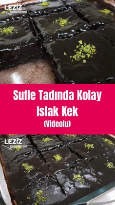 Sufle Tadında Kolay Islak Kek (Videolu) – Leziz Yemeklerim – Kolay yemekler – The Most Practical and Easy Recipes Baked Chicken Recipes, Pizza Recipes, Athlete Nutrition, Moist Cakes, Cake Videos, Vegetable Drinks, Good Pizza, Turkish Recipes, Healthy Eating Tips