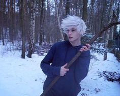 """Polubienia: 5,848, komentarze: 104 – Kuba Połczynski (@kuba.polczynski) na Instagramie: """"The cold never bothered me anyway. #tumblr #forest #mystical #dreams #jackfrost #cosplay…"""" Ftm Haircuts, Boy Hairstyles, Emo Guys, Cute Guys, Androgynous Hair, Young Cute Boys, Aesthetic Photo, Aesthetic Clothes, Aesthetic People"""