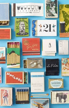 matchbook design - Google Search