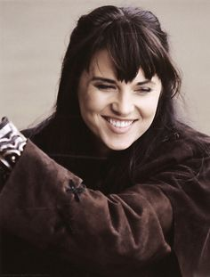 "Lucy Lawless as Xena in the TV series ""Xena: Warrior Princess"""