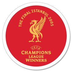 2005 Liverpool C/L Winners Official Transfer (Home) - Subside Sports