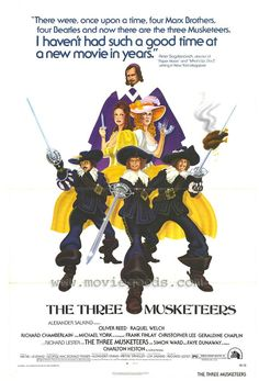 The Three Musketeers movie posters at MovieGoods.com