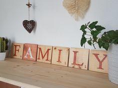 20210723_145912 Tuile, Boutique, Decorative Wooden Letters, Scrabble Letters, Painted Wood, Boutiques