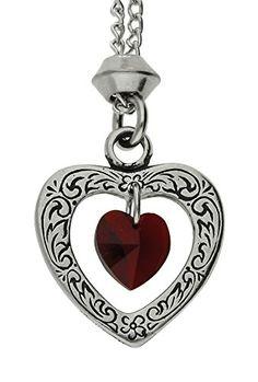 Handmade January Garnet Crystal Heart Birthstone Pewter P... https://www.amazon.com/dp/B01172B328/ref=cm_sw_r_pi_dp_x_D.i9xbX0M5CWN