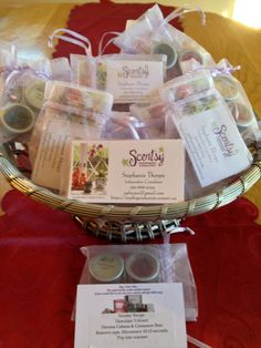 I made Scentsy recipes with my testers! A great way for consultants to utilize all those mini testers!