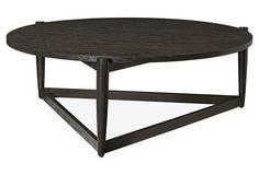 Adeline Modern Coffee Table, Mink