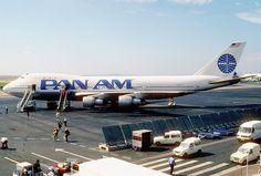 Pan Am Boeing 747-121; N742PA, September 1987 by Aero Icarus, via Flickr