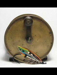 Vintage Brass reel