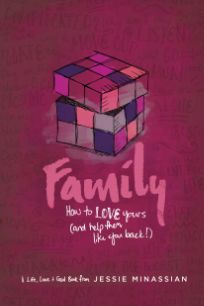 """Are you tired of fighting with your family? Do you feel hurt by your siblings, or mistrusted by your parents? In the pages of """"Family: How to Love Yours (and Help Them Like You Back)"""", I want to walk with you through some of the tricky parts of navigating family life. Whether your family is close to perfect or completely messed up, God wants to use the people you call family to make you more like Jesus.    #family #teen #faith #Godgirl"""
