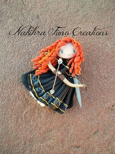 Limited Edition Doll-like Merida Polimer Clay