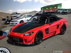 Honda s2000. Love this car