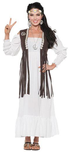 Women's Hippie Costume                                                                                                                                                                                 Plus