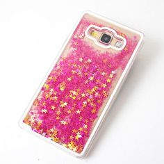 Luxury Bling Liquid Glitter Star Phone Case