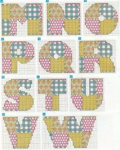 patchwork monograms 2