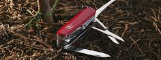 The Original Swiss Army Knives, large size 91 mm Victorinox Knives, Victorinox Swiss Army, Cool Knives, Swiss Army Knife, The Great Outdoors, Canning, The Originals, Switzerland, Grande