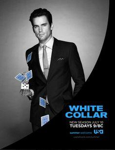 White Collar USA Season 4 2012 poster. Peter Burke