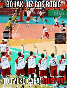 Takie true 👼😹 Sport Volleyball, Volleyball Memes, Volleyball Players, Volleyball Wallpaper, Funny Moments, Best Memes, Haikyuu, Poland, Haha