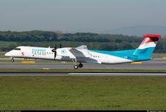LX-LGE Luxair De Havilland Canada DHC-8-402Q Dash 8
