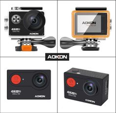 Master the world through a lens through photos or video with the Aokon 4K WiFi Sports Action Camera. Highly sought after in the market as one of the best action cameras, you'll never miss a beat.